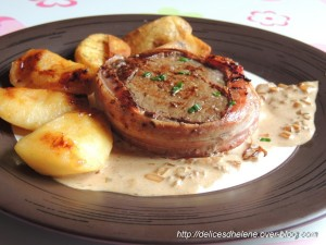 tournedos filet salers